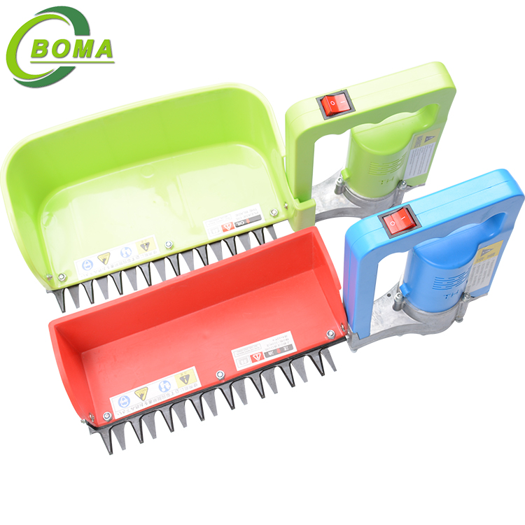 Factory Price Rechargeable Mini Tea Plucking Machine Tea Hedge Trimmer for Wild Rock Roses