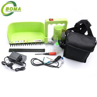 Light Weight Rechargeable Mini Tea Leaf Harvester for Tea Bush Garden