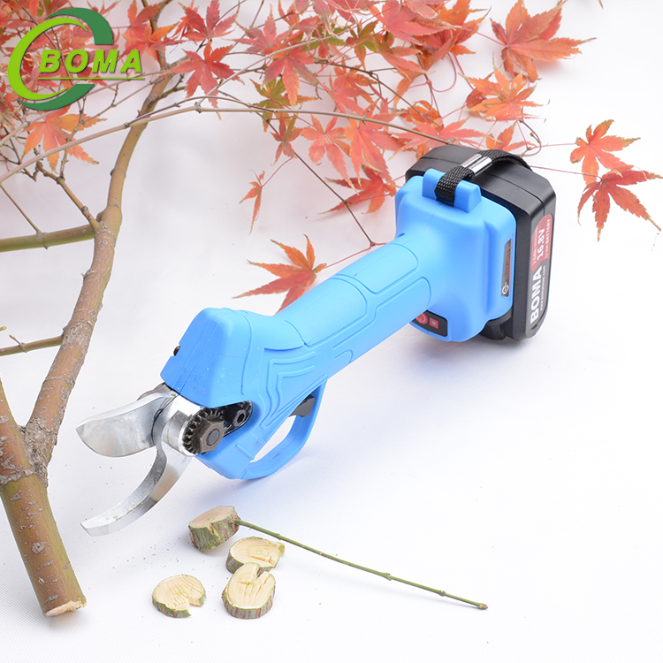 Manufacturer Supply Rechargeable Electric Pruning Shears for Pruning Branches Fruit Trees