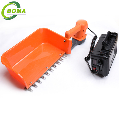 China Single Man Electric Mini Tea Leaves Plucking Machine with Big Tea Pulcking Board