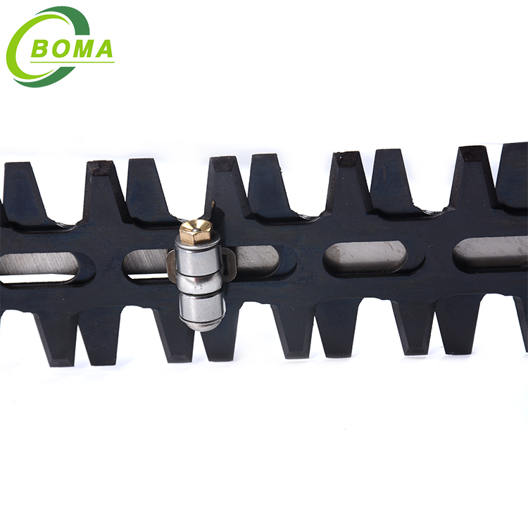 BOMA Reputable Dual Blade Bendable Electric Engine Hedge Trimmer for Natural Landscape