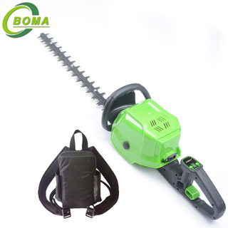 Double Blade Electric High Quality Hedge Cutters with Lithium Cell Backpack for Garden