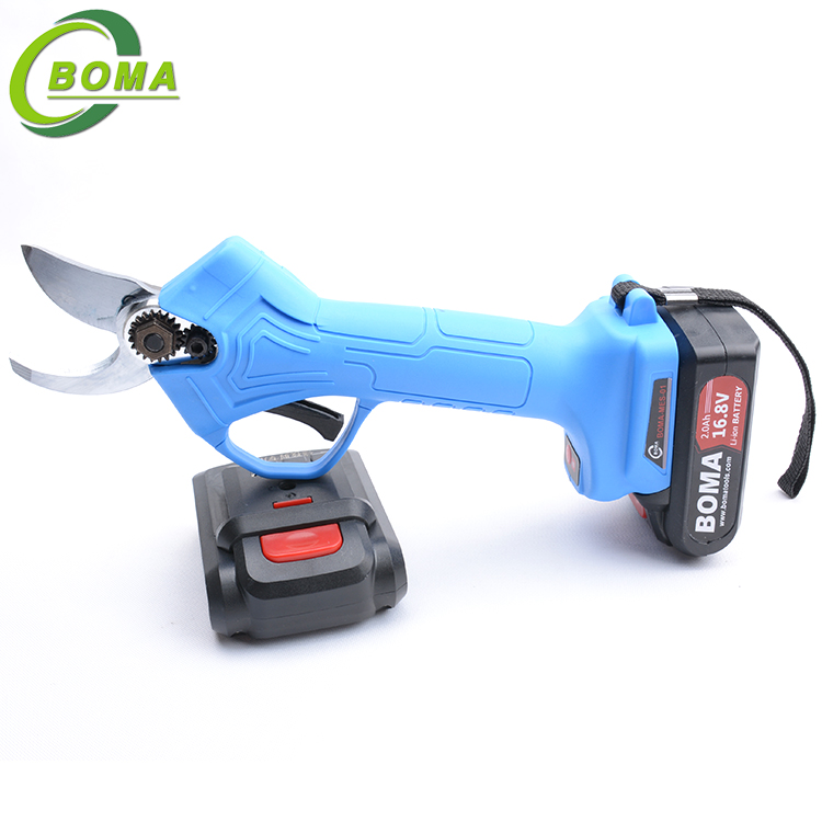 New Invented Lithium Rechargeable Cordless Garden Pruning Shears For Agricultural Use