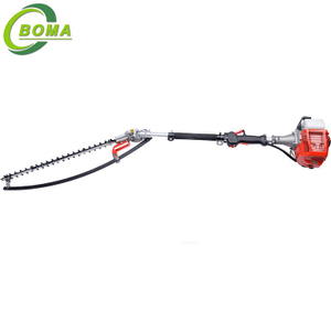 Industrial 26cc Gas Shrub Cutter with Gasoline Engine for Trimming Round Shrubs