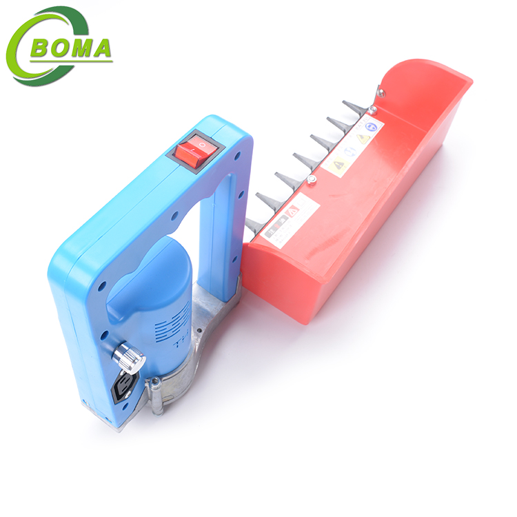 Portable Tea Plucking Machines Made by BOMA Company for Tea Company