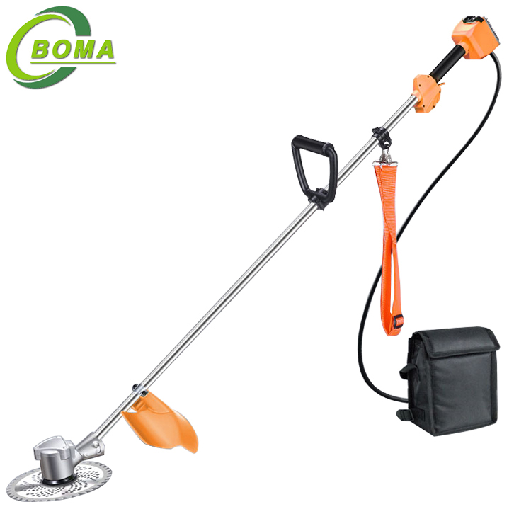 Brushless Motor Battery Powered Electric Grass Cutter for Garden Landscaping