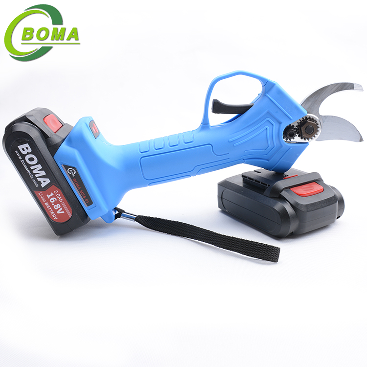 Latest Mini Tree Pruner Shears with Two Rechargeable Lithium Battery for Branches