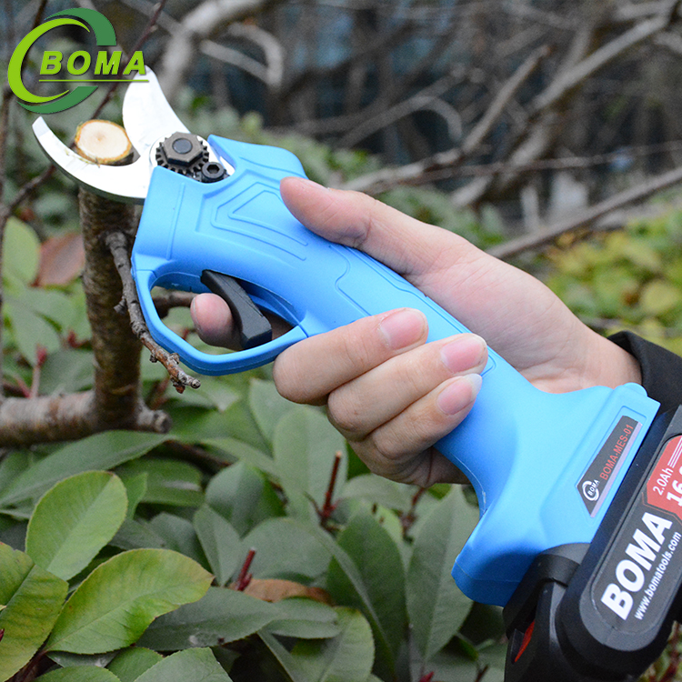 Cheaper Li-ion Battery Powered Mini Garden Scissors for Farm Field and Landscape