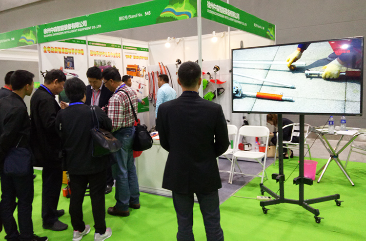 visitors are interested in the curvable hedge trimmer
