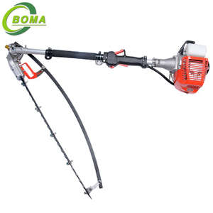 Portable Long Pole Gasoline Hedge Trimmer for Landscape