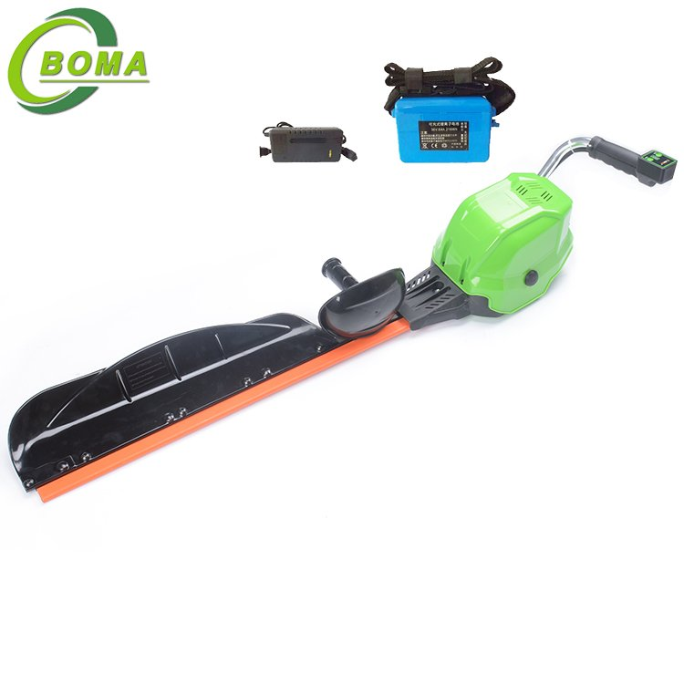 BOMA 6AH Electric Cordless Single Blade Type Bush Trimmer for Landscape Construction