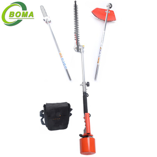 BOMA High Quality Curved 3 in 1 Multifunction Bush Trimmer Grass Cutter Chainsaw Trimmer