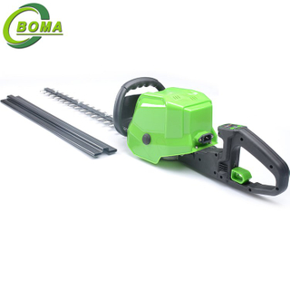 China Supply Straight Electric Bush Trimmer with Lithium Battery Backpack for Dense Leaves