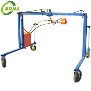 Optimal Quality Round Bush Trimming Machine for Boxwood and Photinia Fraseri