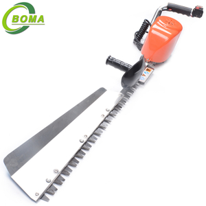 Low Noise Battery Powered Garden Single Blade Tree Hedge Trimmer Tools