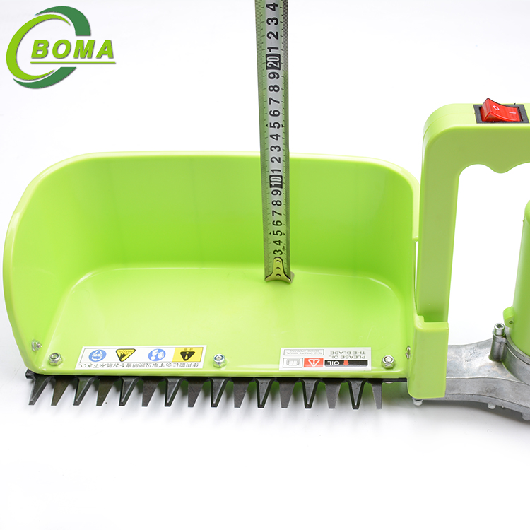 Electric One Man Tea Plucking Machine with Bigger Collecting Tray