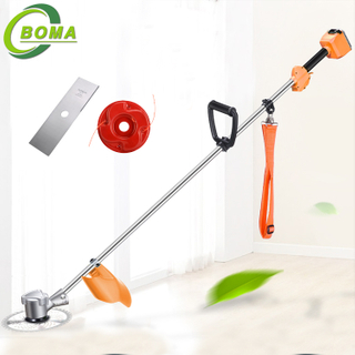 Newest Cordless Weed Trimmer Gardening Tools Electric Brush Cutter
