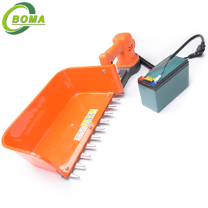 Waterproof 12V Mini Tea Harvester with Big Tray for Tea Estate