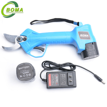 Hot Selling Cordless BOMA NE Brand Garden Secateur with Two Batteries for Strong Branches